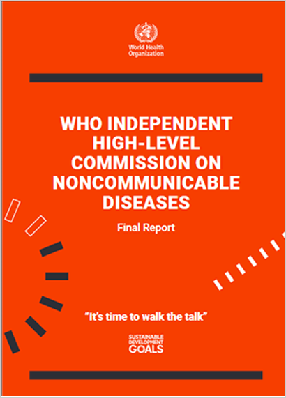 WHO INDEPENDENT HIGH-LEVEL COMMISSION ONNONCOMMUNICABLE DISEASES
